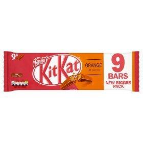 Kit Kat Orange 9x 2 Fingers