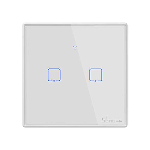 Smart Light Switch, SONOFF WiFi Touch Wall Light Switches Works with Alexa and...