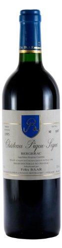 Château Pique-Sègue Bergerac 1995 - Jahrgangswein mit Silbermedaille, Frankreich, Sud-Ouest, Merlot, Cabernet Sauvignon, Cabernet Franc, Rot, Trocken