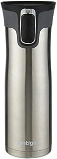 Contigo 507530 Westloop Autoseal Mug, Stainless Steel 591 ml Capacity, Silver