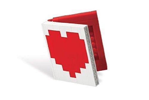 Lego Liebe, Herz, Buch Mini Bilderrahmen Setzen 40015