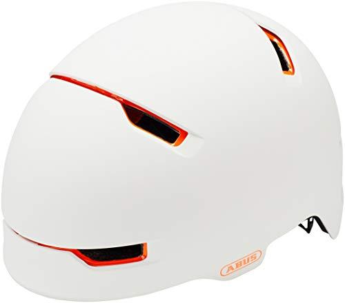 ABUS Unisex-Erwachsene SCRAPER 3.0 ACE Fahrradhelm, Weiß (polar matt), M (54-58)