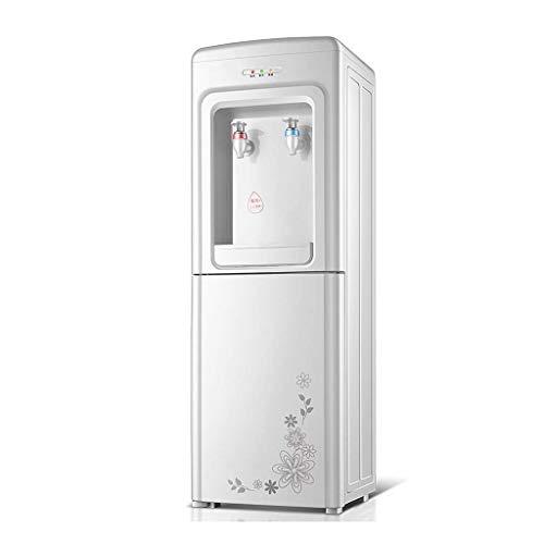 Dispensador de agua caliente de actualización de carga superior, dispensador de agua con revestimiento de acero inoxidable independiente de 3 a 5 galones, doble control de temperatura y gabinete de
