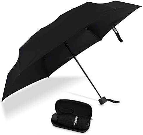 Yoobure Small Mini Umbrella with Case Light Compact Design Perfect for Travel Lightweight Portable product image