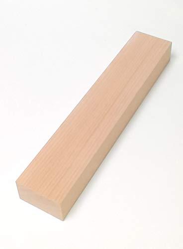 1 Stück 29mm starke Holzleisten Rechteckleiste Kanthölzer Buche massiv. 50mm breit. Sondermaße (29x50x100mm lang.)