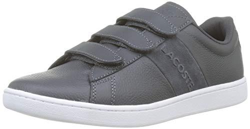 Lacoste Damen Carnaby Evo Strap 319 1 SFA Sneaker, Grau (Dark Grey/White 032), 42 EU