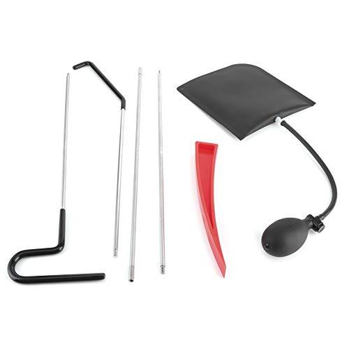 Material largo Grabber Acero inoxidable y goma no Marring cuñas Kit profesional Grabber Reacher herramienta de aire cuñas bomba bolsa herramienta de emergencia para coche