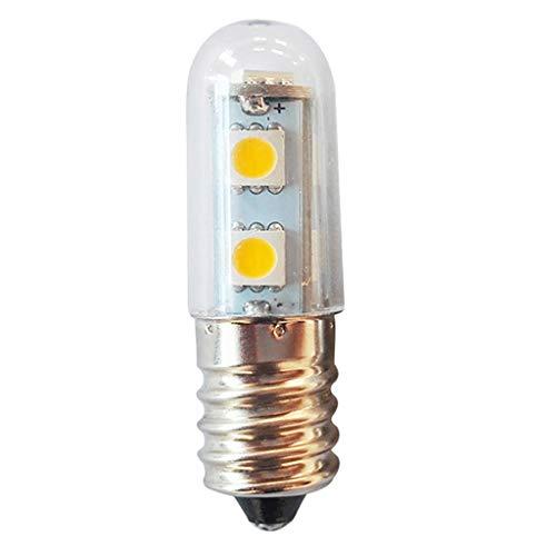 Amuzocity Bombilla LED 220V Regulable 1W Horno Microondas Frigorífico Lámpara Luz