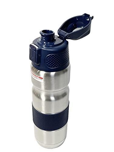 Unico B.free ステンレスボトル サーモボトル クール&ホット 500F 真空断熱 自転車用 水筒 500ml 保冷 保温...