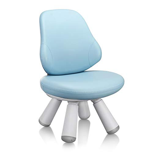 ZHAOHUI-Ensembles Table et Chaise pour Enfants Siège Souple Hauteur Réglable Table d'enfant Chaises Jardin d'enfants Ménage Jeu Facile À Nettoyer, 3 Couleurs (Color : Blue)