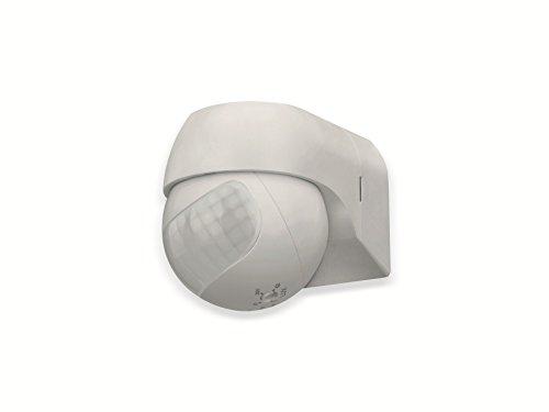 sonero IMS080 Infrarot-Bewegungsmelder - Innen- / Außenmontage, schwenkbar, Schutzklasse: IP44, 180° / 12m Arbeitsfeld, weiß