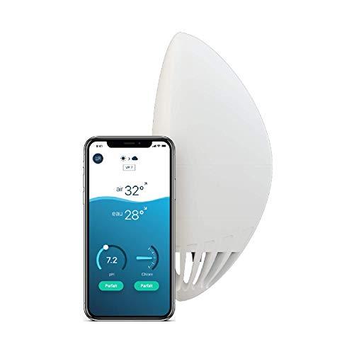 Flipr Start Max Asistente conectado – Piscina y spa – Análisis continuo del agua 24/7 – Agua clara y limpia todo el año sin esfuerzo