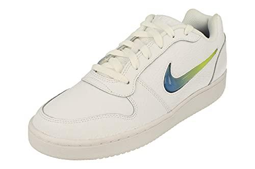 Nike Ebernon Low Prem Hombre Trainers AQ1774 Sneakers Zapatos (UK 7.5 US 8.5 EU 42, White Game Royal Lime Blast 100)