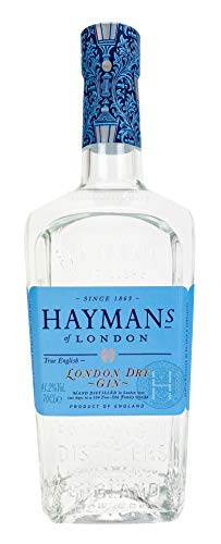 Haymans Dry Gin London 0,7l (41,2% Vol) Spirituose Bar Cocktail Longdrink Gin tonic- [Enthält Sulfite]