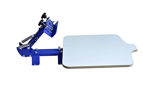 INTBUYING Screen Printing Press T-Shirt Screen Printing Machine One Color Manual
