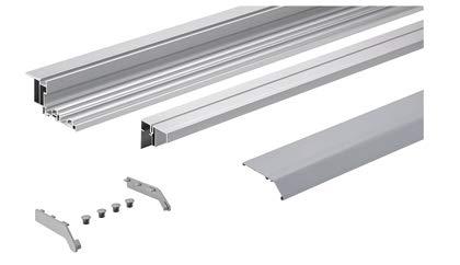 TopLine XL Vorgelochtes Profilset verstärkt für 1- / 2- / 3- / 4-türige Schränke, 6000