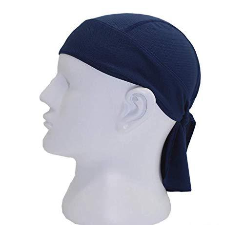 SUNXIN Sombrero pirata para montar al aire libre, secado rápido, diadema deportiva, humedad, transpirable, protector solar, diadema pirata, gorra peque?a