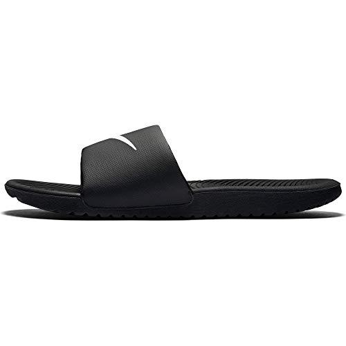 Nike Men's Kawa Slide Athletic Sandal, Black/White, 11 D(M) US