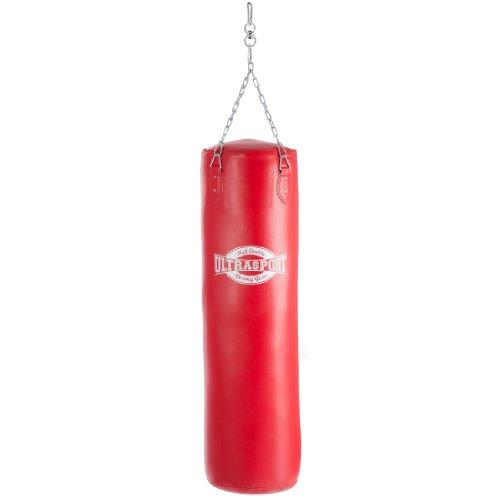 Ultrasport Equipement de Boxe Sac de Boxe 120 cm Simili Cuir