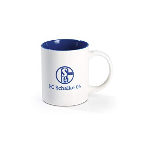 Schalke 04 Herren Kaffeetasse, weiß, 12