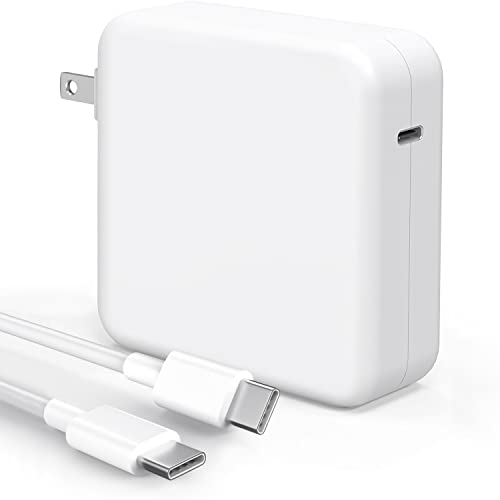 Mac Book Pro Charger - 100W USB C Charger Power Adapter Compatible with MacBook Pro 16, 15, 14, 13 Inch, MacBook Air 13 Inch, iPad Pro 2021/2020/2019/2018, Included 7.2ft USB C to C Cable