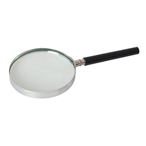 Silverline 633945 - Lupa (100 mm, 3 aumentos)