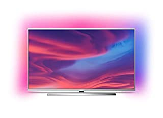 Philips Ambilight 65PUS7354 - Televisor Smart TV 4K UHD, 65 pulgadas, HDR10+, Android TV, Google Assistant y compatible Alexa, Dolby Vision/Atmos, peana central aluminio giratoria, color gris (B07RQZR7JP) | Amazon price tracker / tracking, Amazon price history charts, Amazon price watches, Amazon price drop alerts