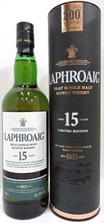 ラフロイグ 15年 200周年記念ボトル 43度 700ml [並行輸入品]