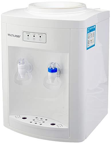 Bebedouro Eletrônico 127V com 65W Suporta Galão de 10 e 20 Litros Temperatura de 7°C a 10°C Branco Multilaser - BE011