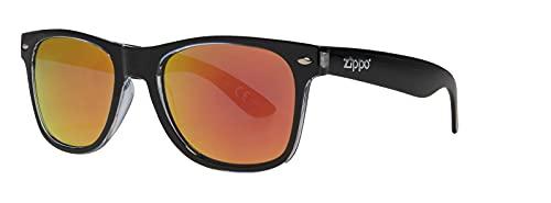 Zippo Unisex Multicoating Lens Sonnenbrillen, schwarz, M