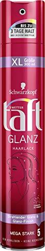 Schwarzkopf 3 Wetter taft Haarlack Glanz mega starker Halt 5, 6er Pack (6 x 300 ml)