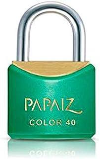 Cadeado Color Line, Papaiz, CR40, Verde