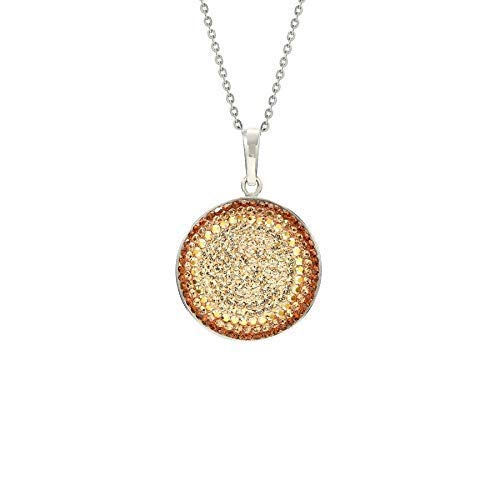 LA Sales of SALE items from new works SENJA 220+ Swarovski Sparkly Handmade Crystals Max 82% OFF Necklac Circle