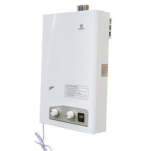 Eccotemp FVI12-LP Indoor Liquid Propane Tankless Water Heater Vertical Bundle