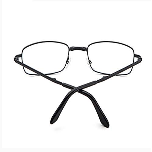 LLCC Smart Folding Hd Dual-Use Leesbril, klein en handig, gemakkelijk te gebruiken, Unisex.