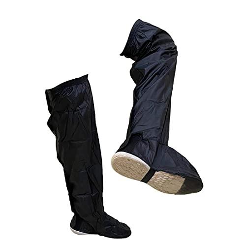 AutoFurnish Premium Knee Height Shoe Rain Protector Covers Shoe Raincoat