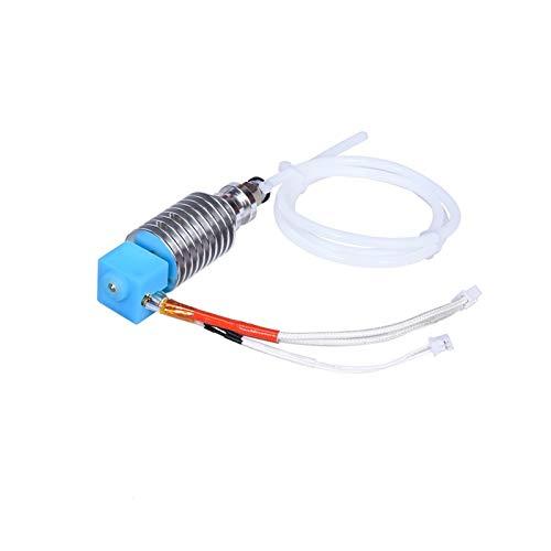 Drucker V5 J-Head Hotend Kit E3.d Bowden Extruder V5 Heizungsblock 12 / 24V / Fit für Anycubic i3 Mega/Fit für Chiron 3D-Druckerteile V6 Hotend (Color : 24V All Kit)