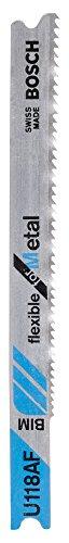 Preisvergleich Produktbild Bosch 2608636234 Stichsägeblatt 3 Stichsägeblätter U 118 AF