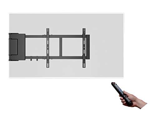 MULTIBRACKETS - Supporto TV da parete con motore e telecomando a distanza. Per TV da 37  a 60 . Rif. MotorSwingArm Large