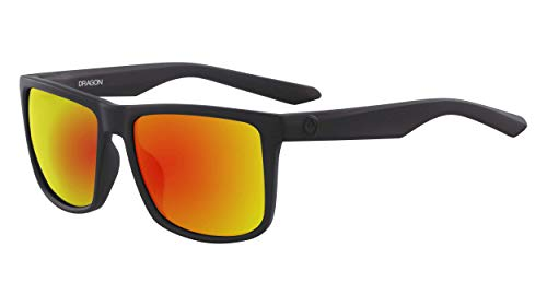 Dragon Mens DR MERIDIEN LL ION Sunglasses, MATTE BLACK, One Size