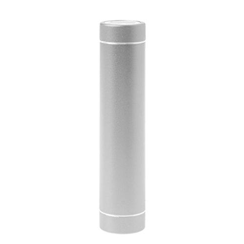 Gjyia Puerto USB 1 x 18650 batería DIY Holder Power Bank Case 3 modos linterna para teléfono celular