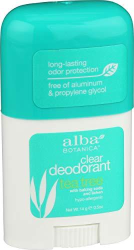 Alba Botanica Tea Tree Clear Deodorant, 0.5 oz.