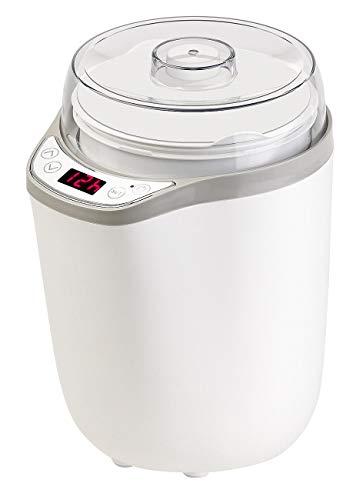 Rosenstein & Söhne Joghurtbereiter: XL-Joghurt-Maker für griechischen Joghurt, Naturjoghurt u.v.m, 1,8 l (Jogurtmaker)
