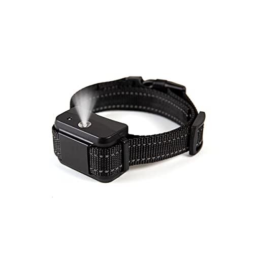 Bikirin Verbessertes Antibell Halsband, (USB Wiederaufladbares) No Harm Anti-Barking Erziehungshalsband Hund mit Spray für Große, Mittelgroße und Kleine Hunde