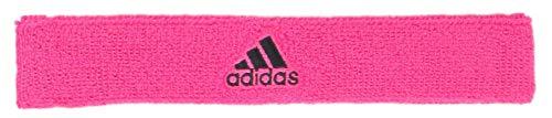 adidas Unisex Interval Slim Headband, Team Shock Pink/Black, ONE SIZE