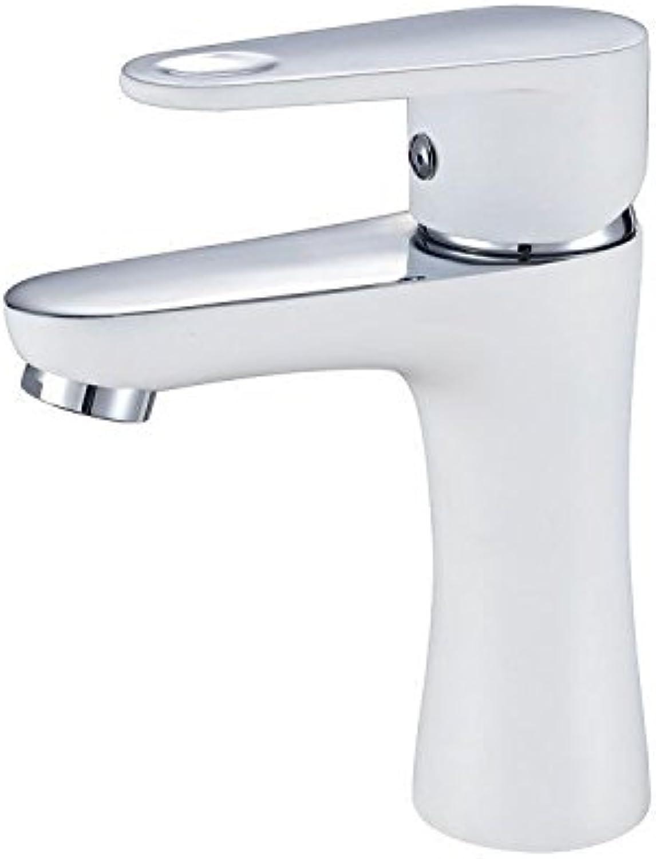 Bijjaladeva Antique Bathroom Sink Vessel Faucet Basin Mixer Tap Bathroom Cabinet faucet faucet Bathroom Cabinet color faucet hot and cold white BF1171E