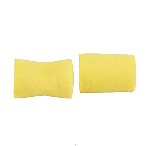 HenShiXin Wider 10 Pairs Snore-Proof Sleep Ear Protector No Cords Soft Foam EarPlugs Sleeping Travel Work Ear Protection Provides (Color : Yellow)
