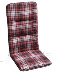 BEST 05081570 Coussin pour Chaise à Dossier Haut Rouge 80 x 43 x 5 cm