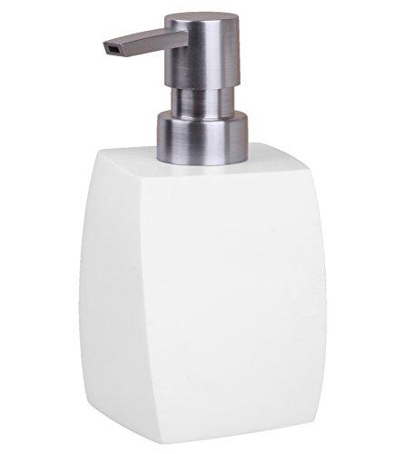 Seifenspender Wave White | stylisches Design | schöner Blickfang im Badezimmer
