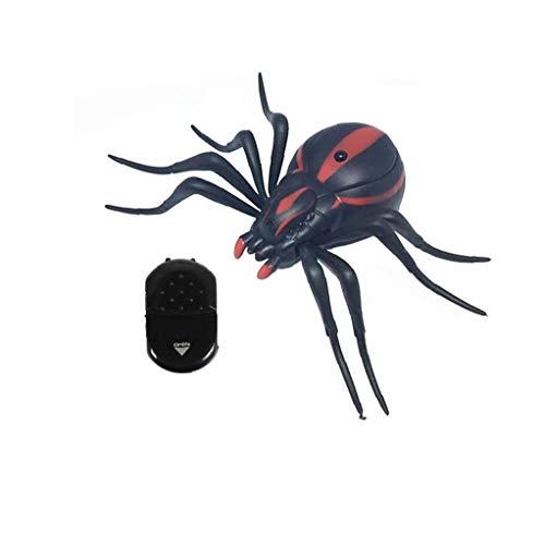 Elektrische Simulation Induktion Spinne Spielzeug Fernbedienung Künstliche Spinne Infrarot Fernbedienung Kinder Spielzeug 9915 Typ 1pc knifflige Requisiten
